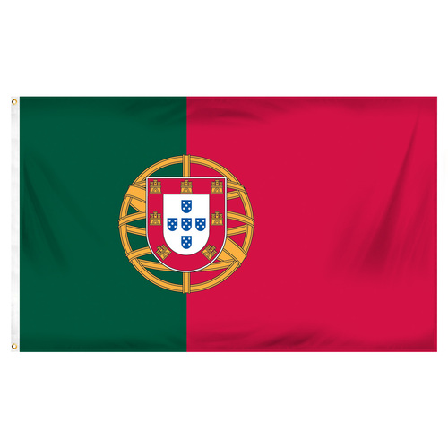 Portugal 3ft x 5ft Printed Polyester Flag