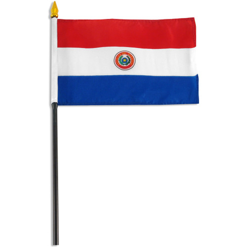 Paraguay flag 4 x 6 inch