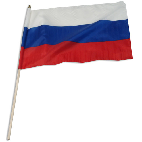 Russian Federation flag 12 x 18 inch