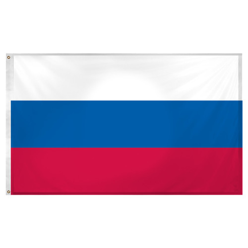 Russian Federation Flag 3ft x 5ft Super Knit Polyester