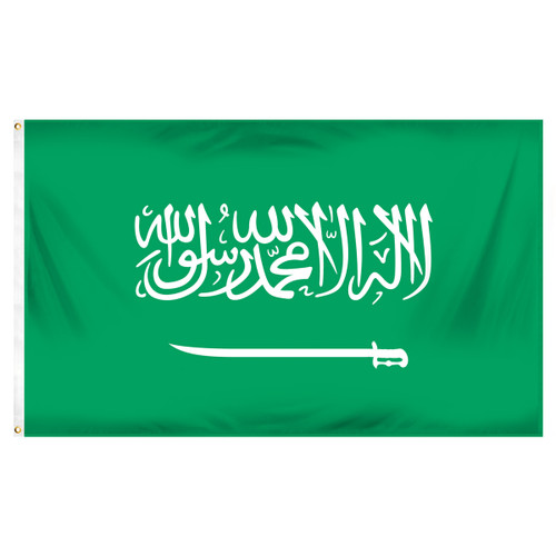 Saudi Arabia 3ft x 5ft Printed Polyester Flag