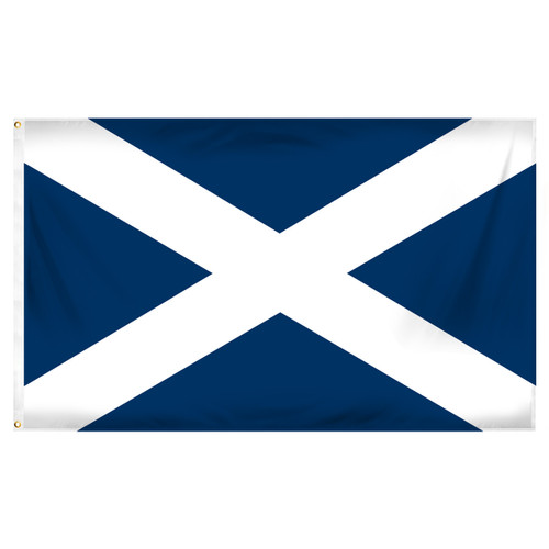 Scotland St Andrew's Cross 3ft x 5ft Printed Polyester Flag