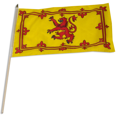 Scotland(Royal Lion Rampant Banner)12 x 18 Inch Flag