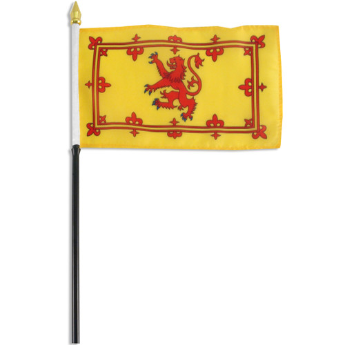 Scotland (Royal Lion Rampant Banner)4 x 6 Inch Flag