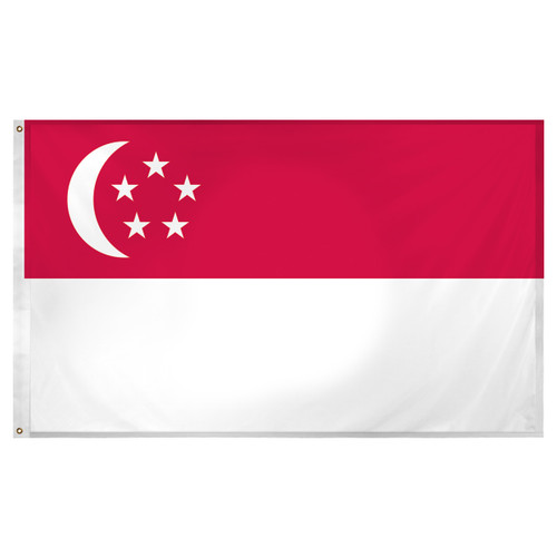 Singapore 3ft x 5ft Super Knit Polyester