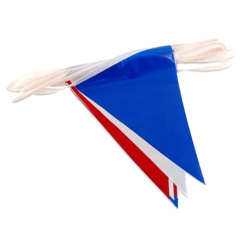 Red, White & Blue Pennant Flags