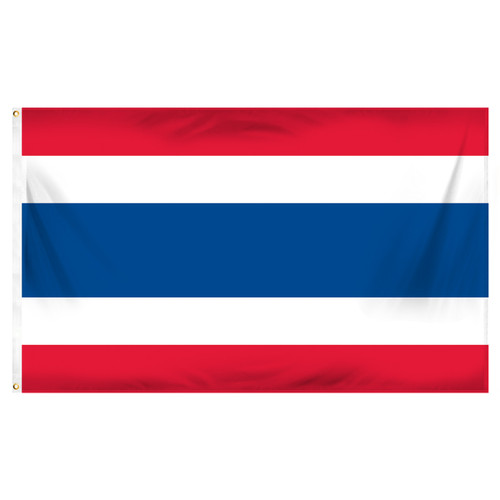 Thailand 3ft x 5ft Printed Polyester Flag