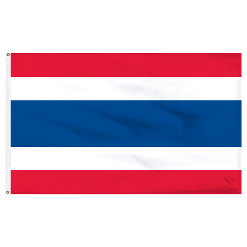 Thailand 5ft x 8ft Nylon Flag