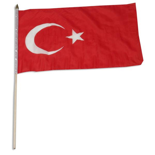Turkey flag 12 x 18 inch