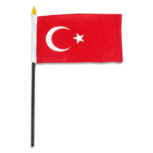 Turkey flag 4 x 6 inch