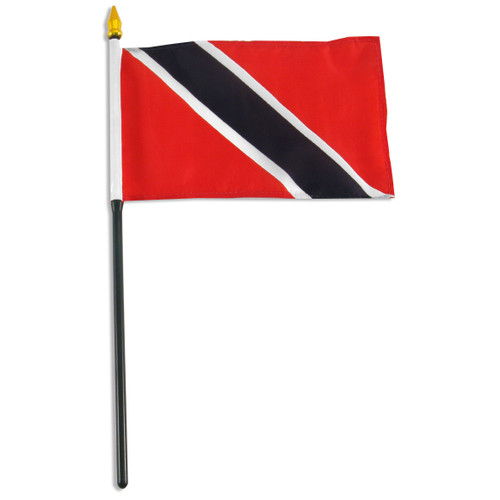 Trinidad and Tobago 4in x 6in Flag