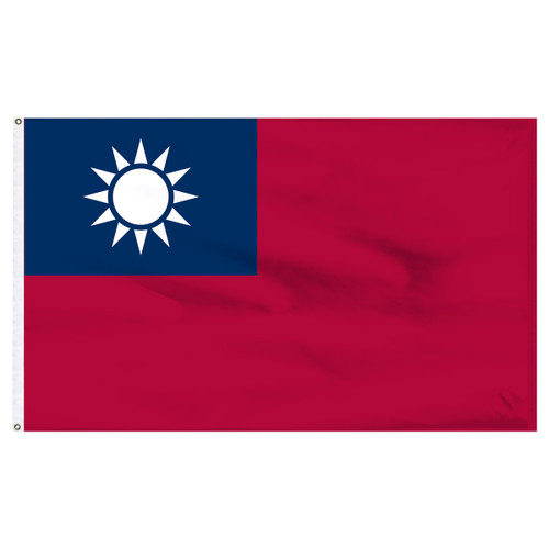 Taiwan 5ft x 8ft Nylon Flag