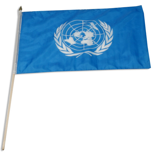 United Nations flag 12 x 18 inch