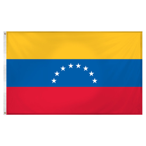 Venezuela 3ft x 5ft Super Knit Polyester