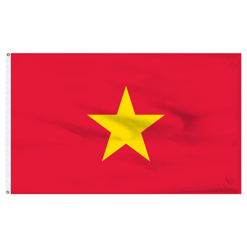 Vietnam Flag 5ft x 8ft Nylon