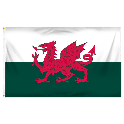 Wales 3ft x 5ft Printed Polyester Flag