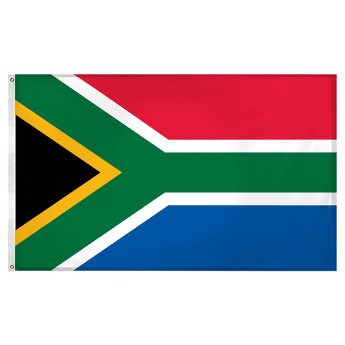 South Africa flag 3ft x 5ft Super Knit Polyester