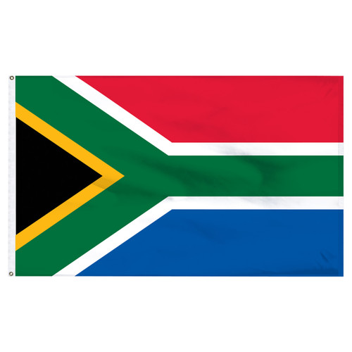South Africa 5ft x 8ft Nylon Flag
