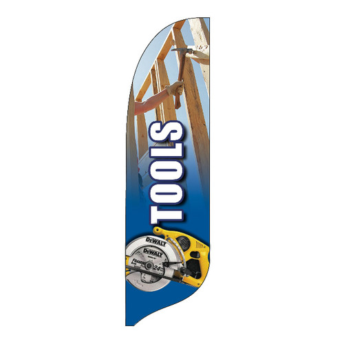 Outdoor Advertising Blade Flag - Tools