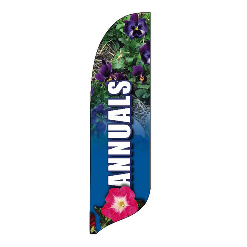 Outdoor Advertising Blade Flag - Annuals
