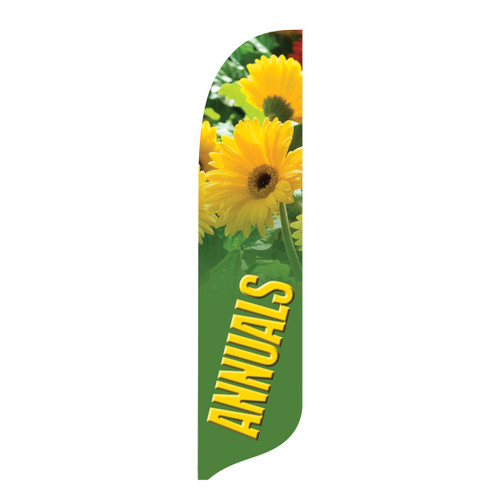 Outdoor Advertising Blade Flag - Decorative - Annuals