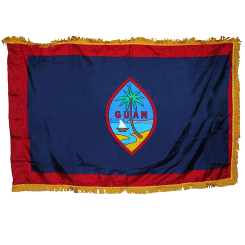 Guam flag 3 x 5 feet nylon Indoor