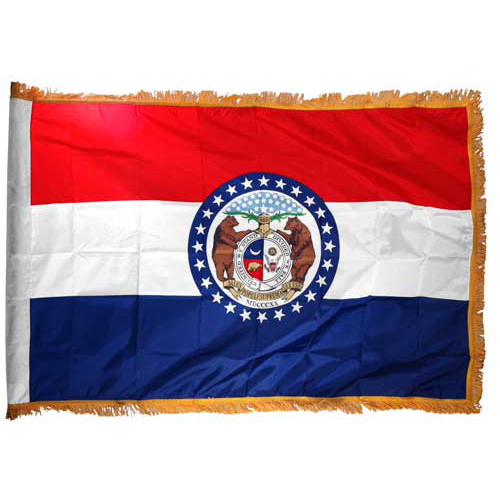 Missouri Flag 3ft x 5ft Nylon Indoor
