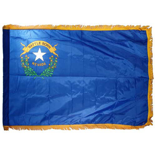 Nevada Flag 3ft x 5ft Nylon Indoor