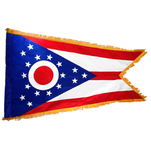 Ohio Flag 3ft x 5ft Nylon Indoor