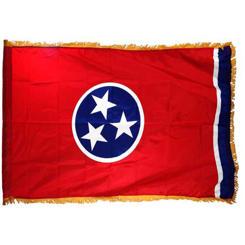Tennessee Flag 3ft x 5ft Nylon Indoor
