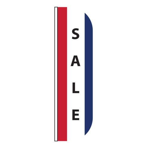 Sale Vertical Message Flutter Flag