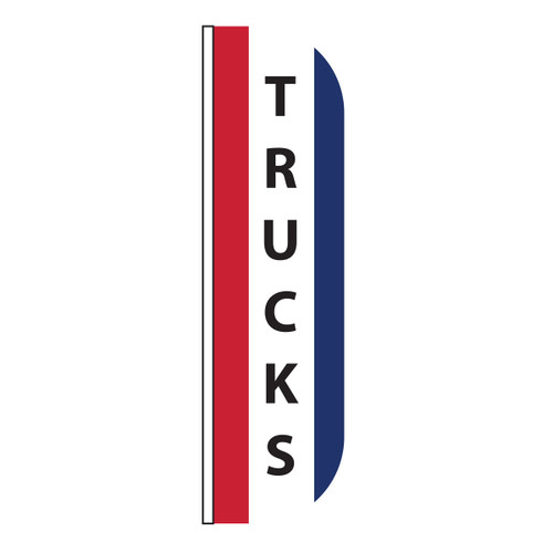 Trucks Message Flutter Flag