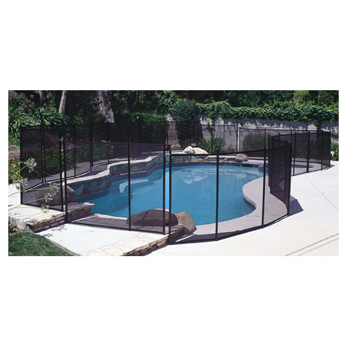 Removeable In-Ground Swimming Pool Safety Fence