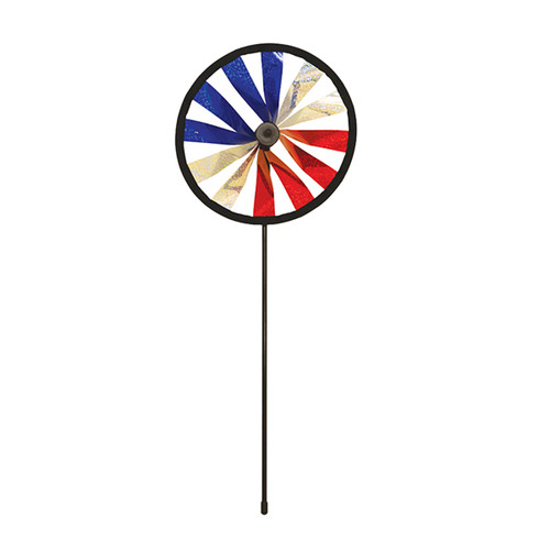 Patriotic Sparkle Wheel Spinner - 8""