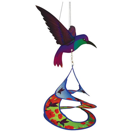 Hummingbird Theme Duet Hanging Decor - 28""