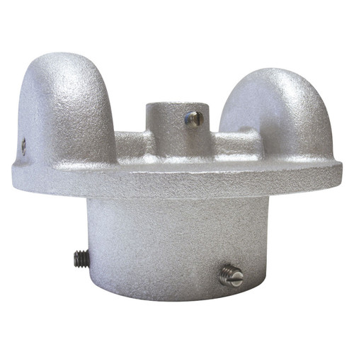 1.875-Inch Cap Style ST-3 Stationary Double Pulley Truck