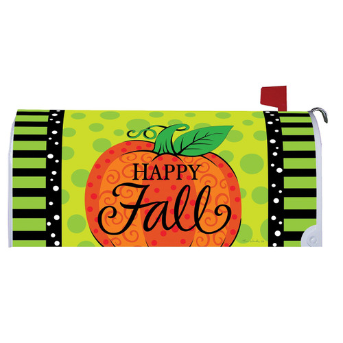 Fall Mailbox Cover - Whimsy Pumpkin