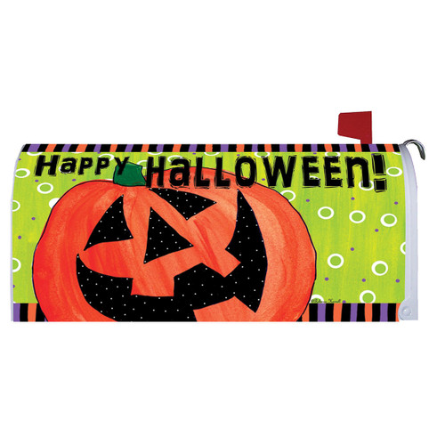 Halloween Mailbox Cover - Happy Jack