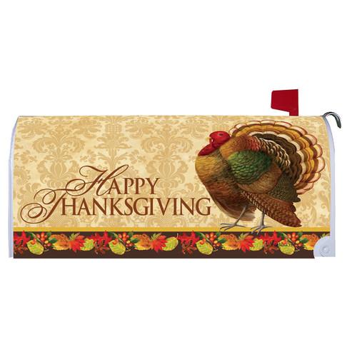 Thanksgiving Mailbox Cover - Thanksgiving Turkey