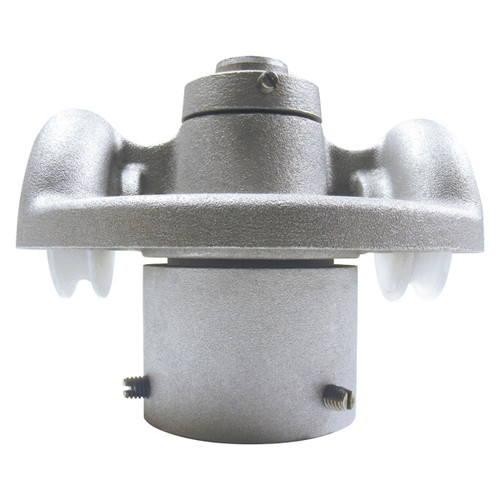 2-Inch Cap Style RTC-2-2 Revolving Double Pulley Truck