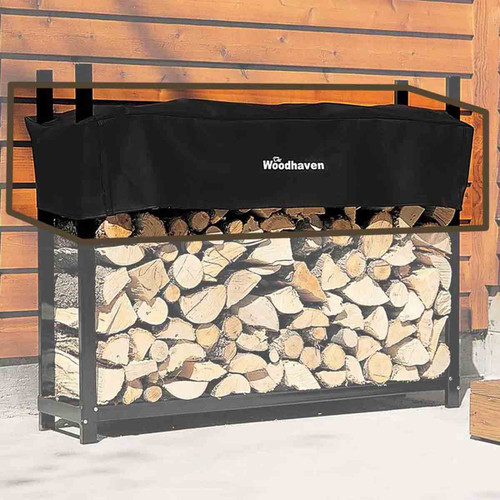 60'' Replacement Woodhaven Firewood Rack Cover