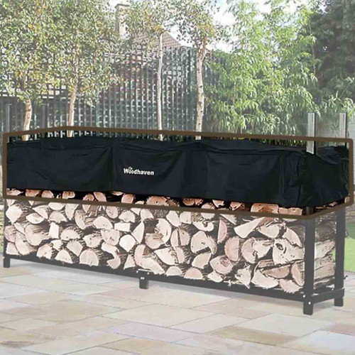 96'' Replacement Woodhaven Firewood Rack Cover