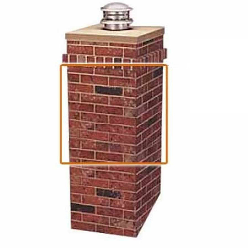 R-CO Rectangular Chimney Surround Extension