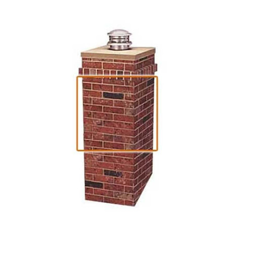 R-CO-Square Chimney Surround Extension