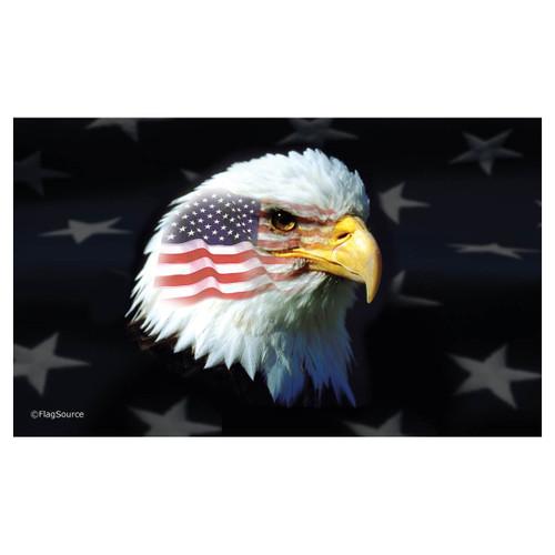 3ft x 5ft Decorative Flag - Patriotic Eagle