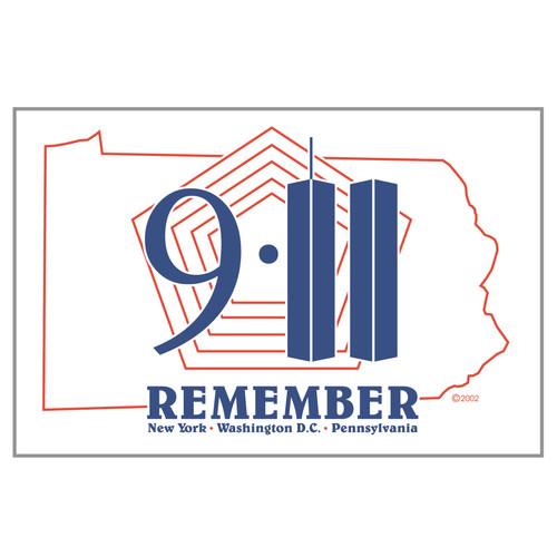 3ft x 5ft Decorative Flag - 9 -11 Remember