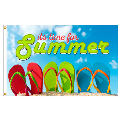 3ft x 5ft Decorative Flag - Summer