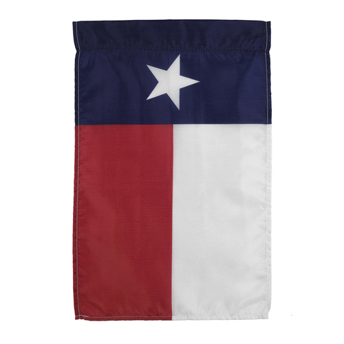 Texas Garden Flag 12in x 18in Nylon