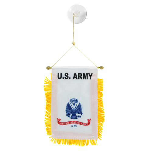 U.S. Army Mini Window Banner