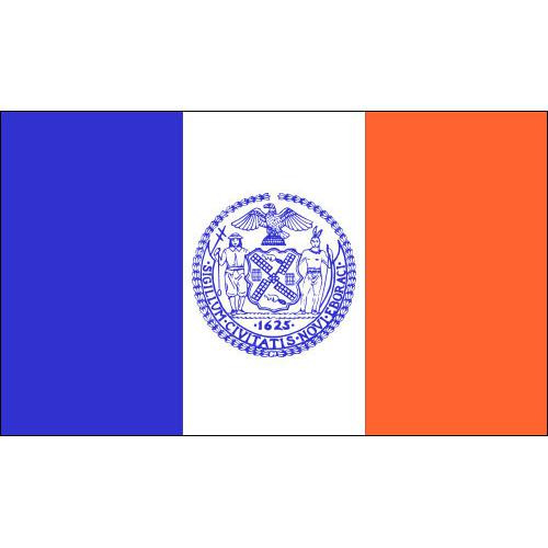 New York City Flag 3ft x 5ft Printed Polyester